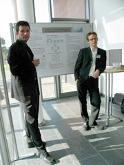 Photo Bogo and Henning at the conference in Potsdam